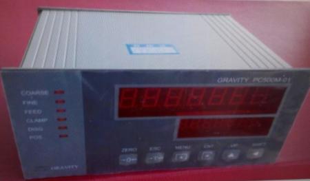 Đầu cân máy đóng bao Gravity PC500M01