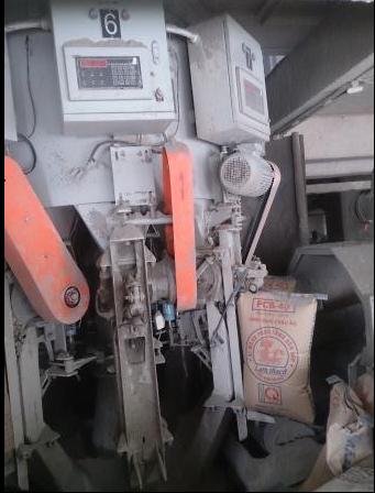 Cải tạo máy đóng bao xi măng Lam Thạch